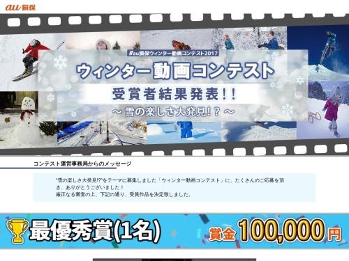 Screenshot of www.au-sonpo.co.jp