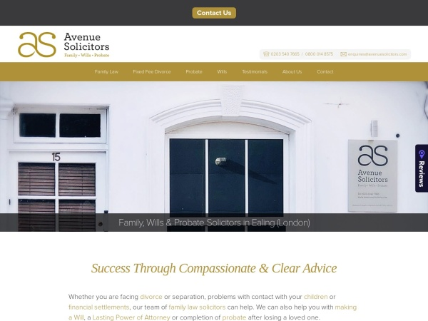 http://www.avenuesolicitors.london