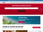 Avis Rent A Car Coupon Code