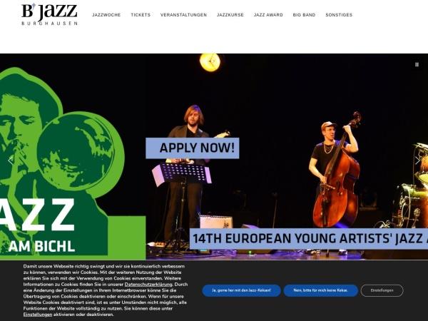 Screenshot von www.b-jazz.com