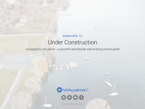 Screenshot of www.badeendfm.nl