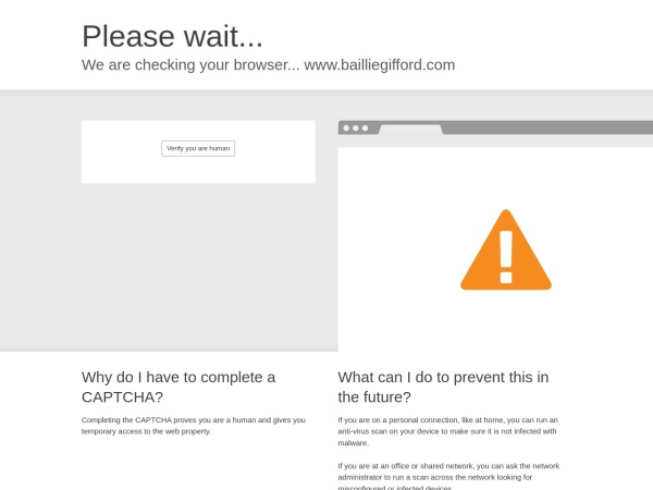 Screenshot of www.bailliegifford.com