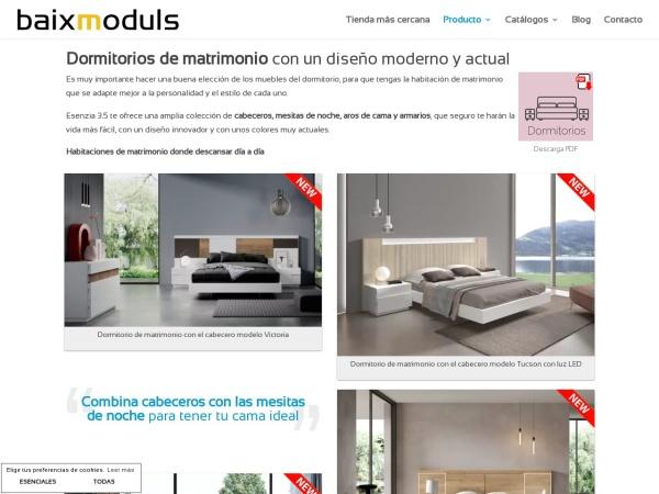 http://www.baixmoduls.com/dormitorios-matrimonio/