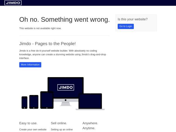 Screenshot of www.bakumaru.jimdo.com
