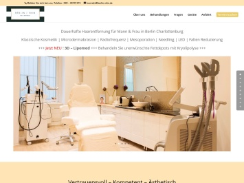 Screenshot von www.berlin-skin.de