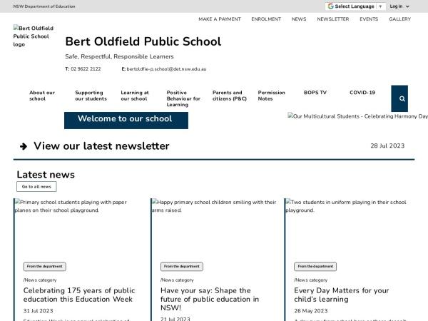 Screenshot of www.bertoldfie-p.schools.nsw.edu.au