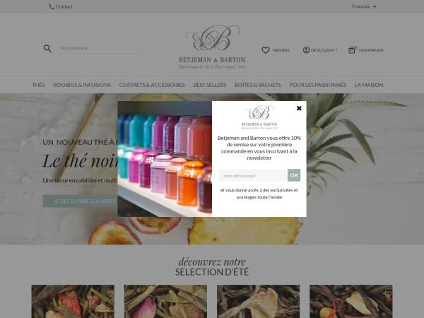 Screenshot of www.betjemanandbarton.com