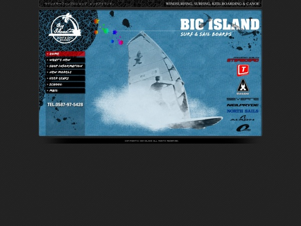 Screenshot of www.big-island-surf.com