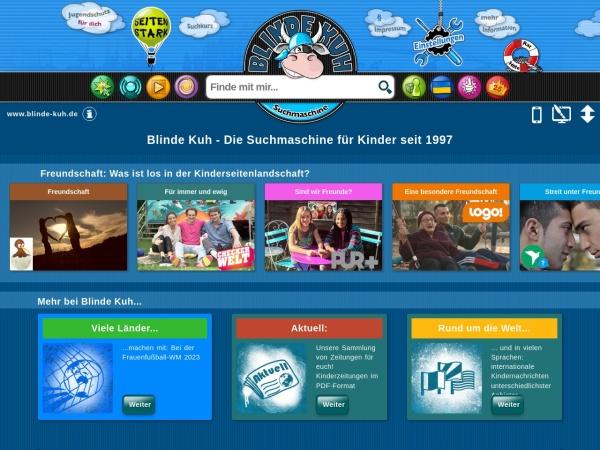 Suchmaschine Blinde-Kuh.de