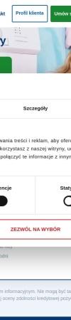 Screenshot of www.bocianpozyczki.pl