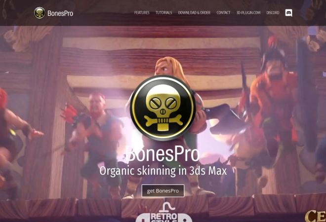 Screenshot of www.bonespro.com