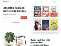 Screenshot of www.bookbub.com