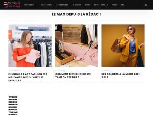 Découvrez des boutiques en ligne de mode