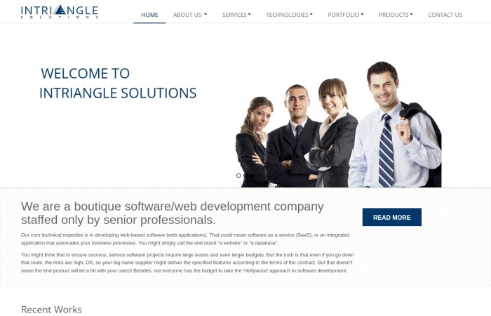 Screenshot of www.brandsvillage.com