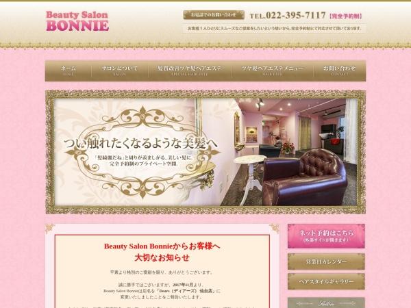Screenshot of www.bs-bonnie.com