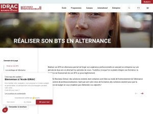 Formation BTS Assistant de Gestion de l'Idrac