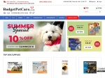BudgetPetCare.com percent off coupon
