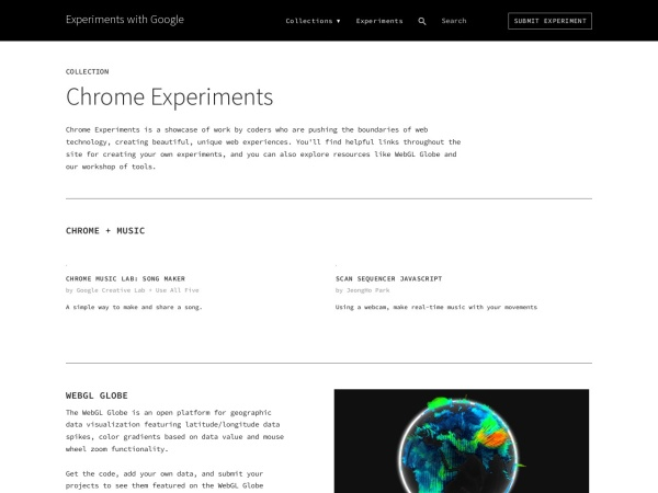 Screenshot of www.buildwithchrome.com