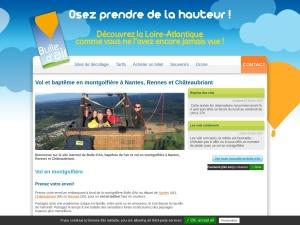 Vol montgolfière Nantes