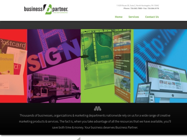 Screenshot of www.businesspartner.com