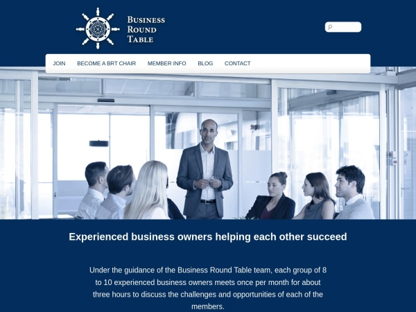 Screenshot of www.businessroundtable.ca