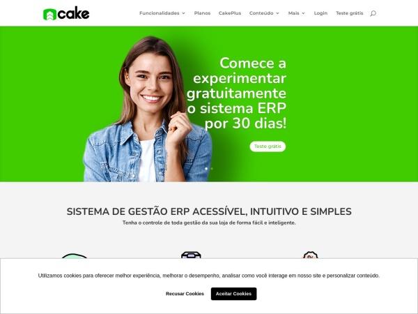 Screenshot of www.cakeerp.com