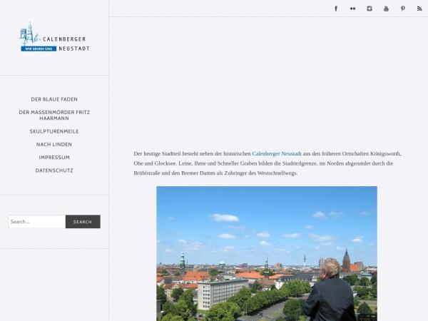 Screenshot von www.calenberger-neustadt.de