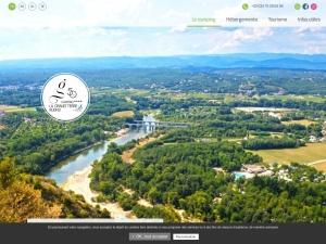 Camping avec mobil home à louer en sud Ardèche