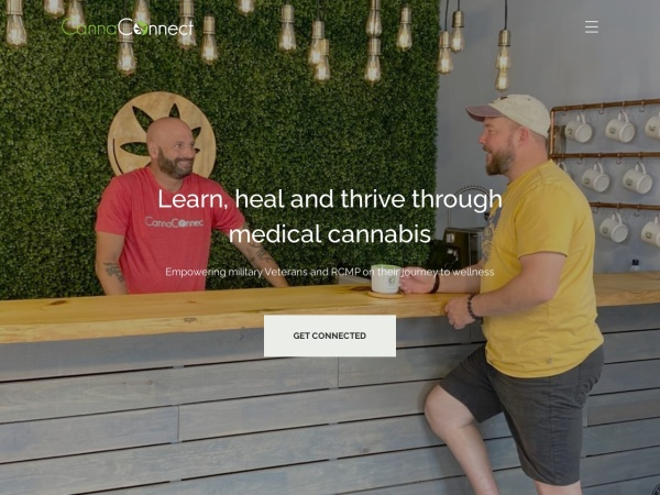Screenshot of www.cannaconnect.ca