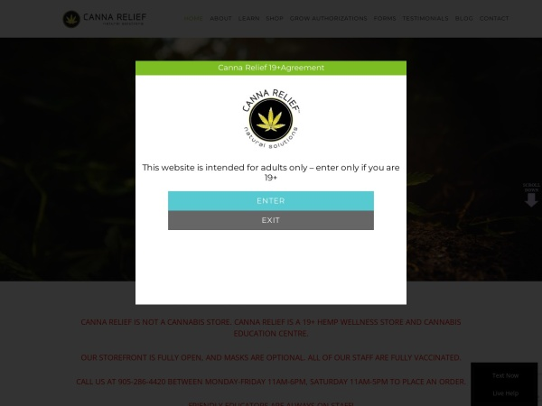 http://www.cannarelief420.ca