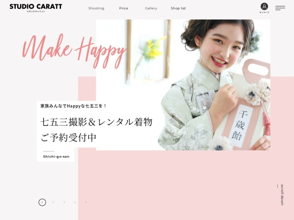 Screenshot of www.caratt.jp