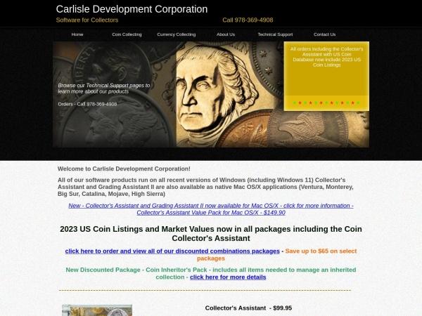 Screenshot of www.carlisledevelopment.com