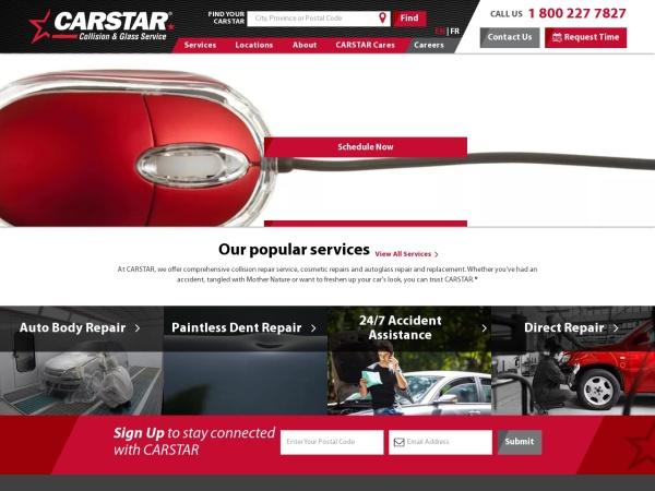 Screenshot of www.carstar.ca