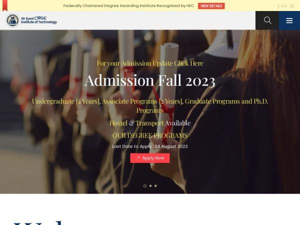 Screenshot of www.case.edu.pk