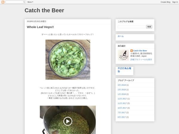 Screenshot of www.catchthebeer.com