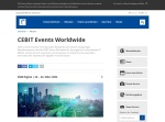 Screenshot of www.cebit.de