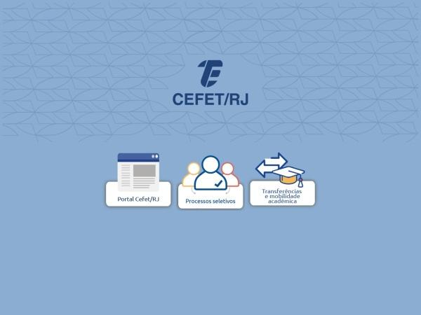 Screenshot of www.cefet-rj.br