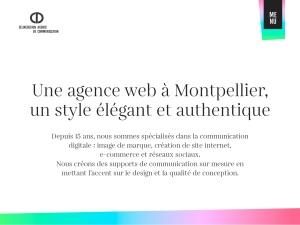 Création de sites internet Montpellier et Béziers