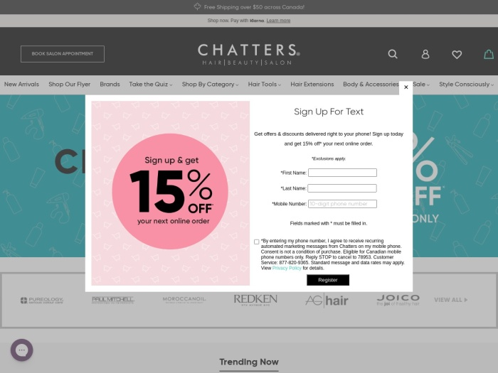 http://www.chatters.ca
