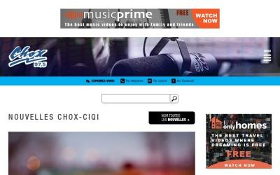 Screenshot of www.chox97.com