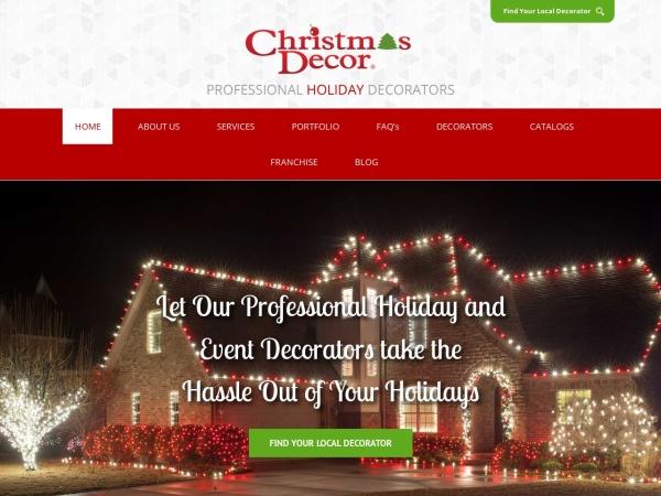 Screenshot of www.christmasdecor.net