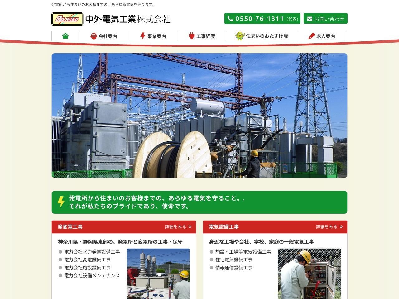 中外電気工業株式会社