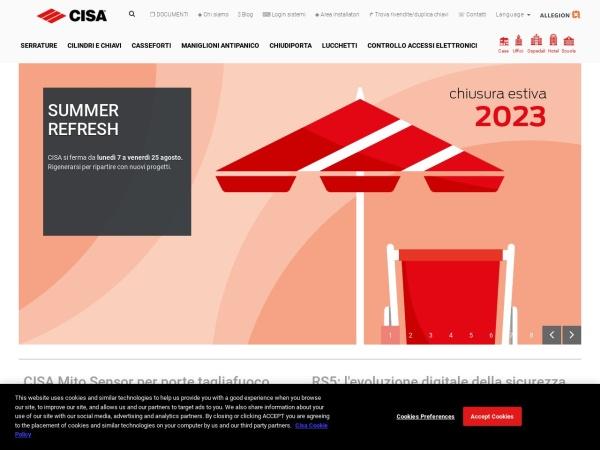 http://www.cisa.com/it/index.html