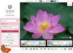 Screenshot of www.city.gyoda.lg.jp