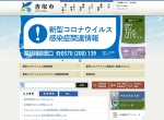 Screenshot of www.city.katori.lg.jp