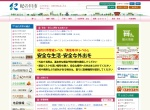 Screenshot of www.city.kinokawa.lg.jp