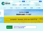 Screenshot of www.city.tainai.niigata.jp