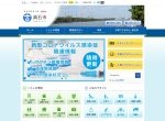 Screenshot of www.city.takaishi.lg.jp