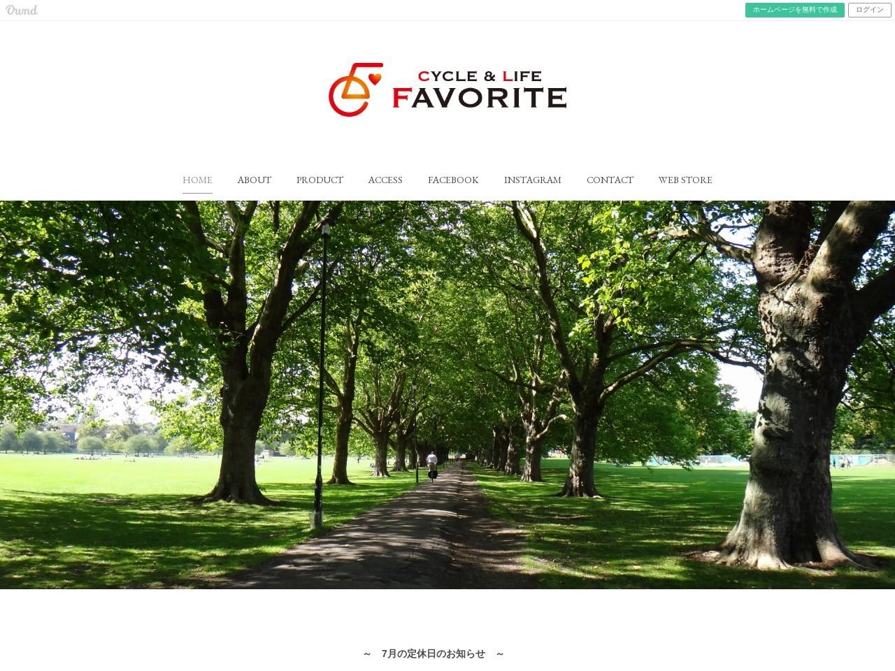 CYCLE&LIFE.FAVORITE