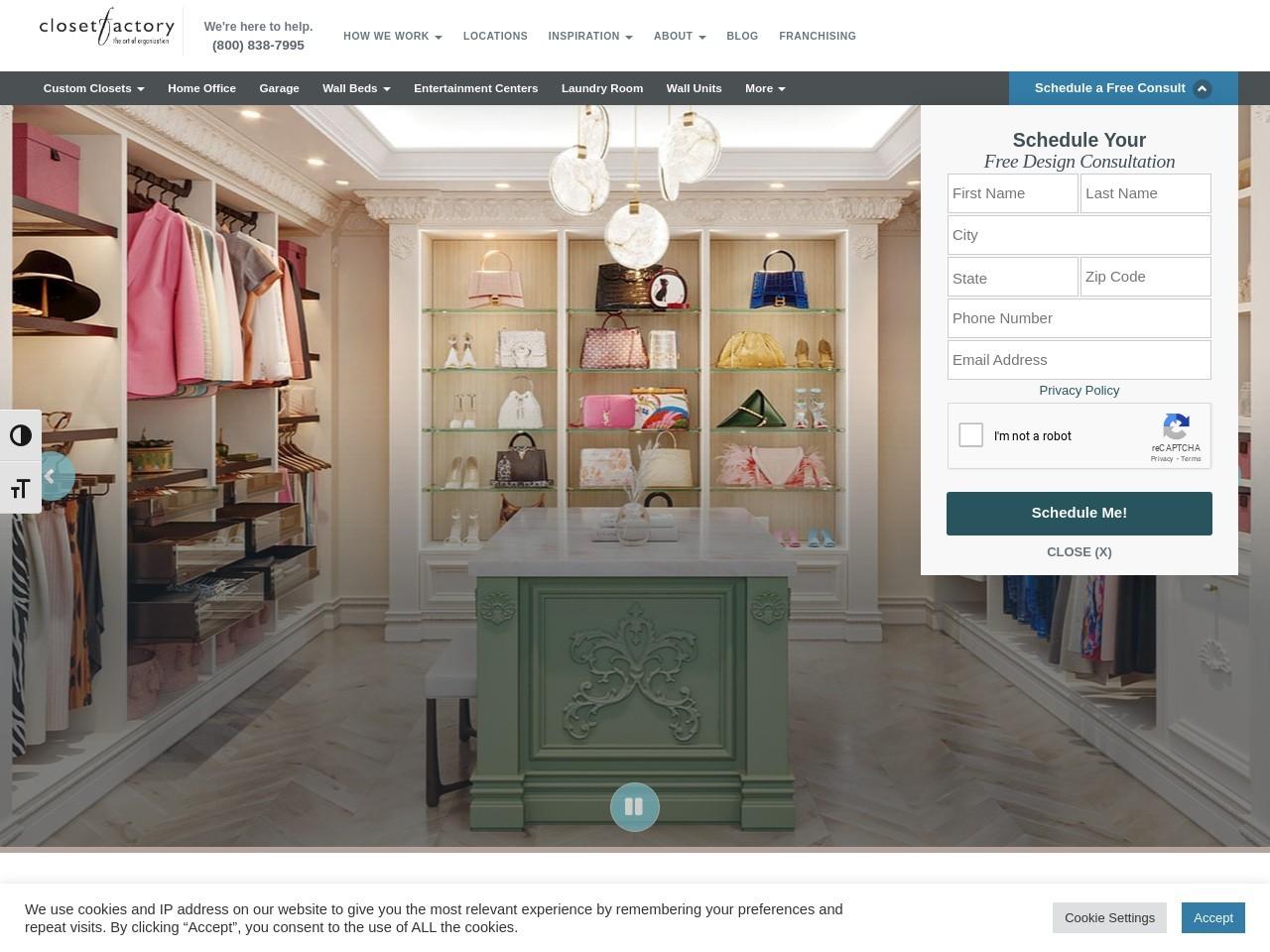 Merveilleux Http://www.closetfactory.com